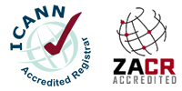 Web4Africa is an ICANN Accredited and ZACR (.za) accredited domain registrar