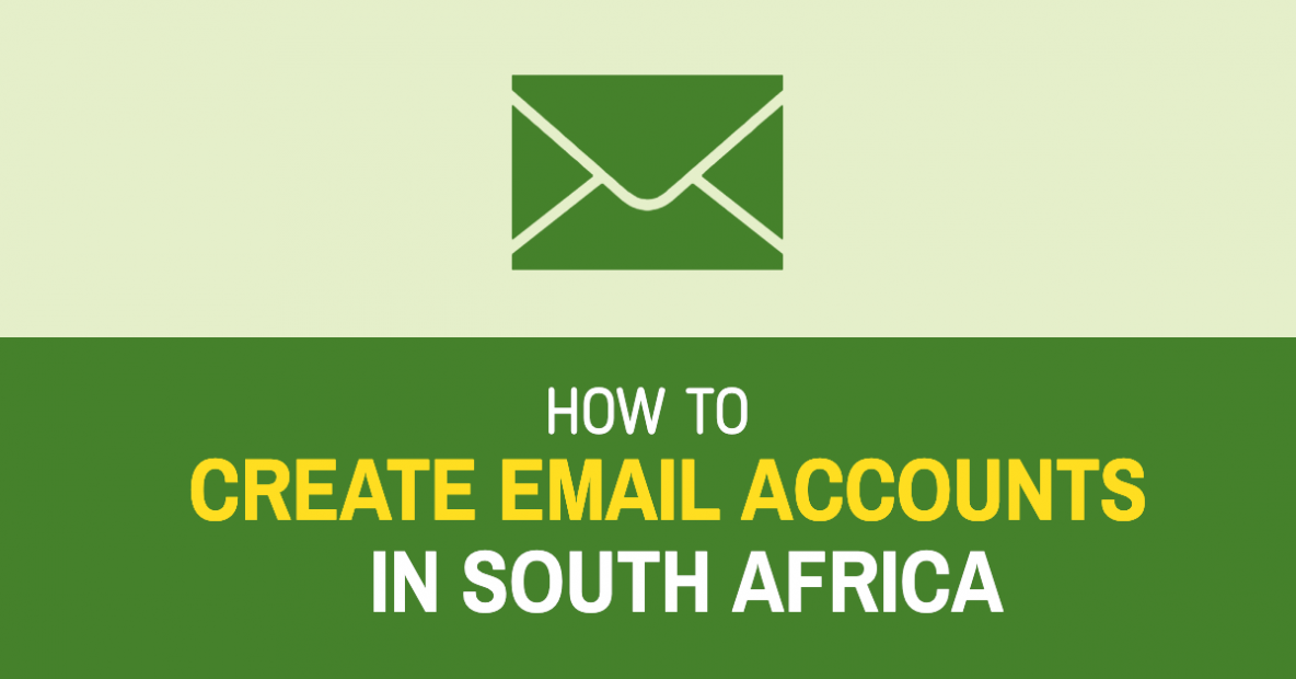 How to create email accounts in South Africa